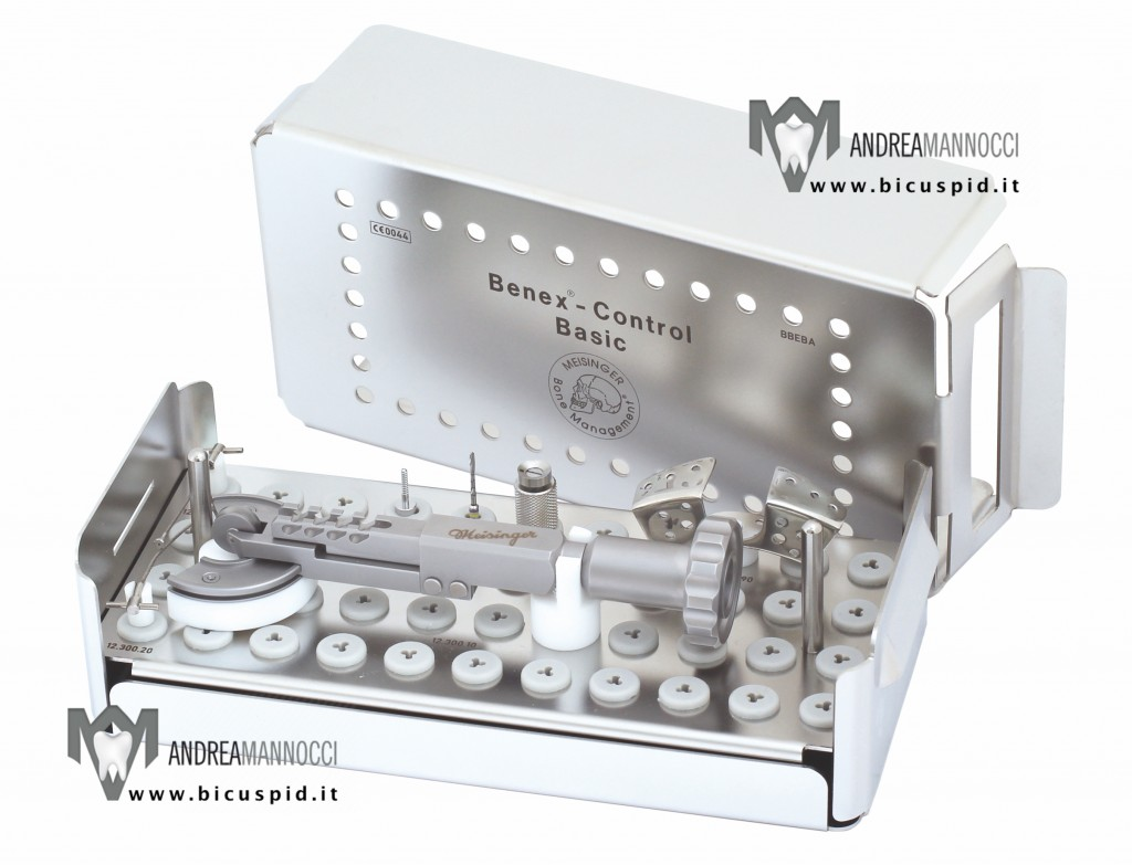 Benex control kit basic Meisinger estrazione dente