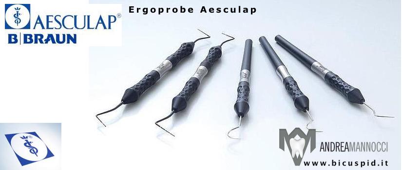 Manici Ergoprobe Aesculap black Line
