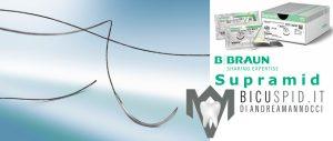 Supramid-BBraun , suture monofilamento non riassorbibile