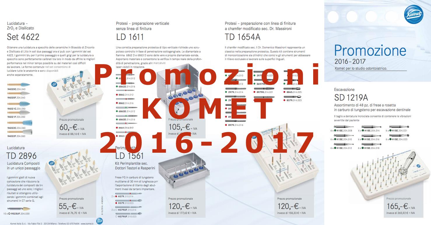 Offerte Komet 2016 - 2017