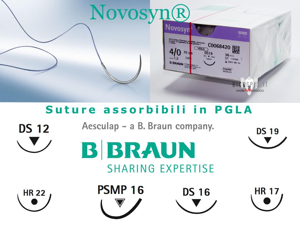 Novosyn suture assorbibili B.Braun