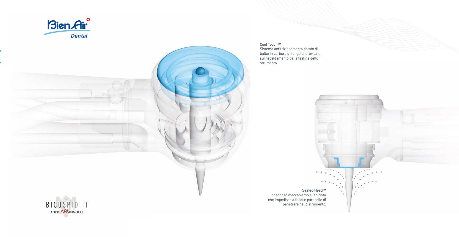Turbina Tornado e sistemi antifrizionamento e blocco fluidi sulla turbina