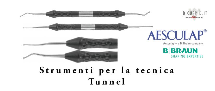 Aesculap strumenti per la tecnica tunnel