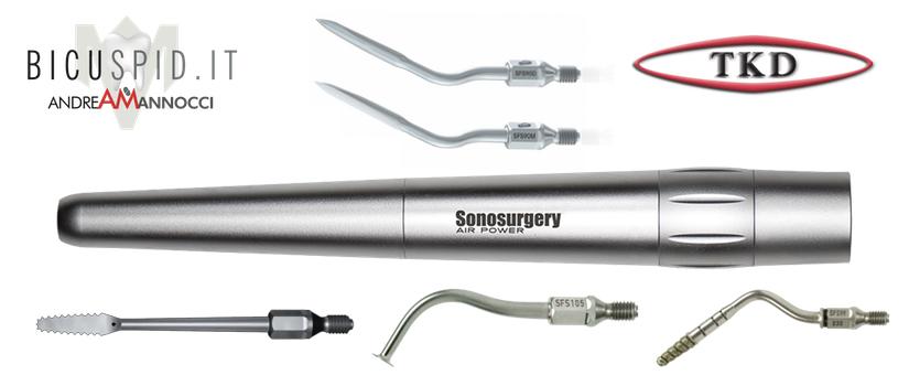 Manipolo sonico per la chirurgia