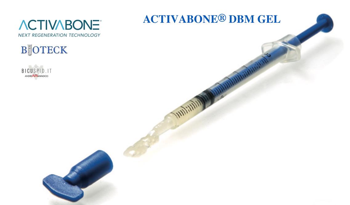 Bioteck Activabone in gel- con DBM fattori di crescita