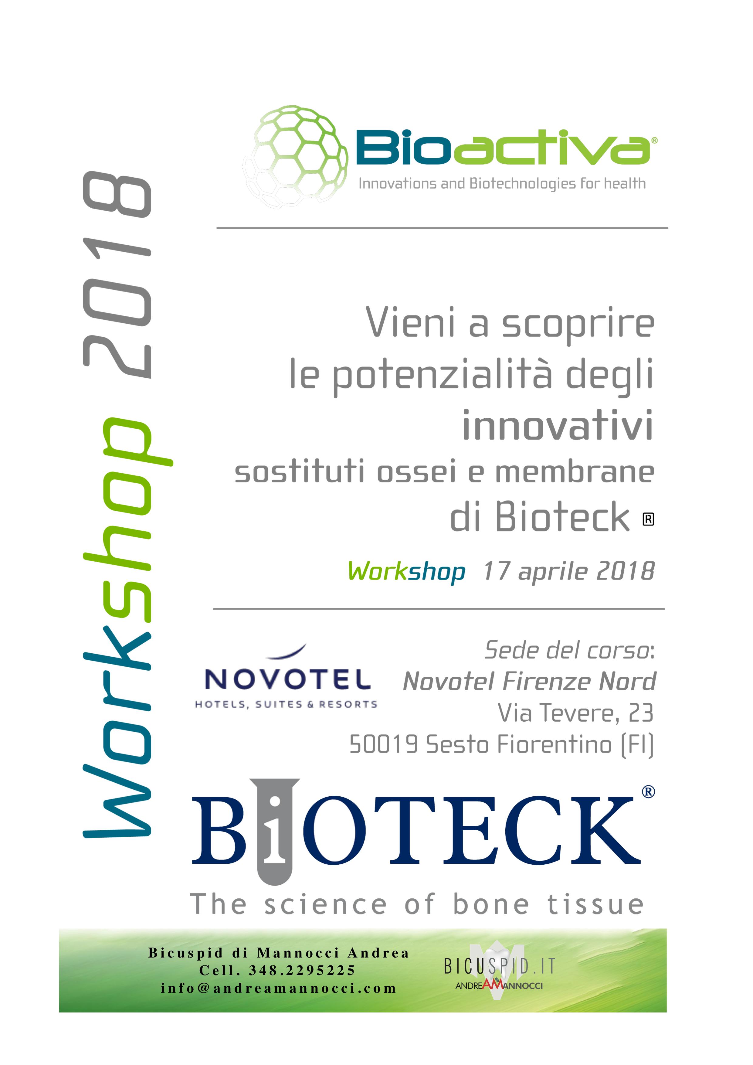 Bioteck corso pratico su sostituti ossei e membrane