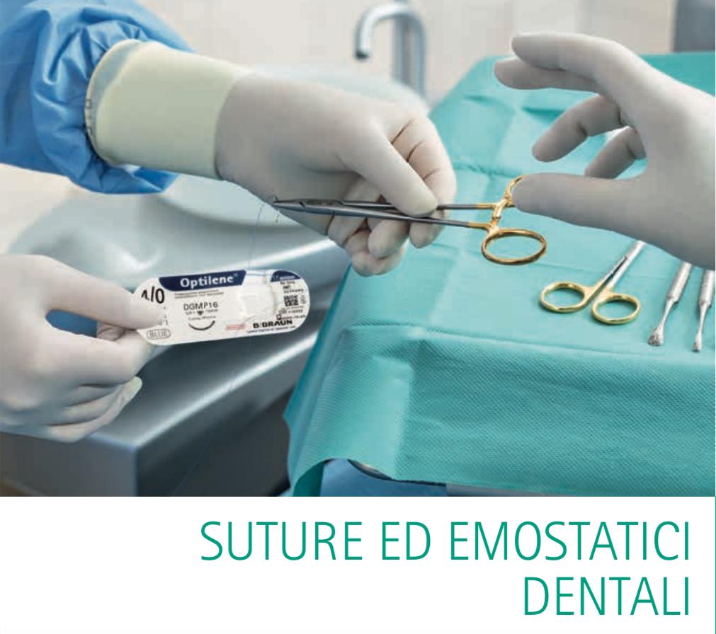 Suture BBraun ed emostatici dentali