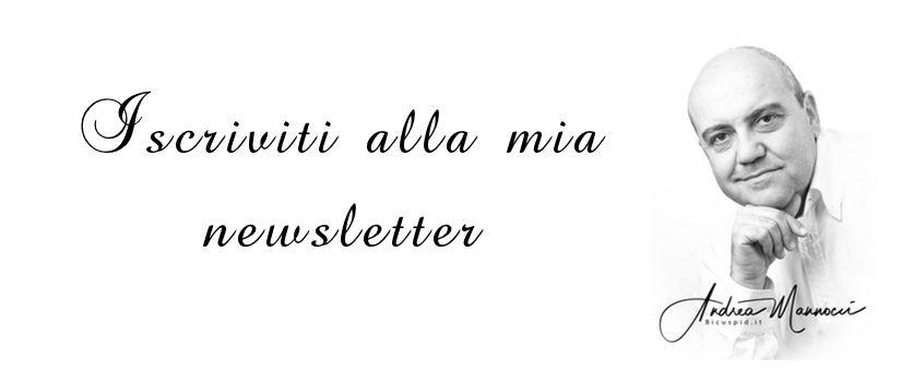 Newsletter iscrizione Andrea Mannocci Bicuspid.it