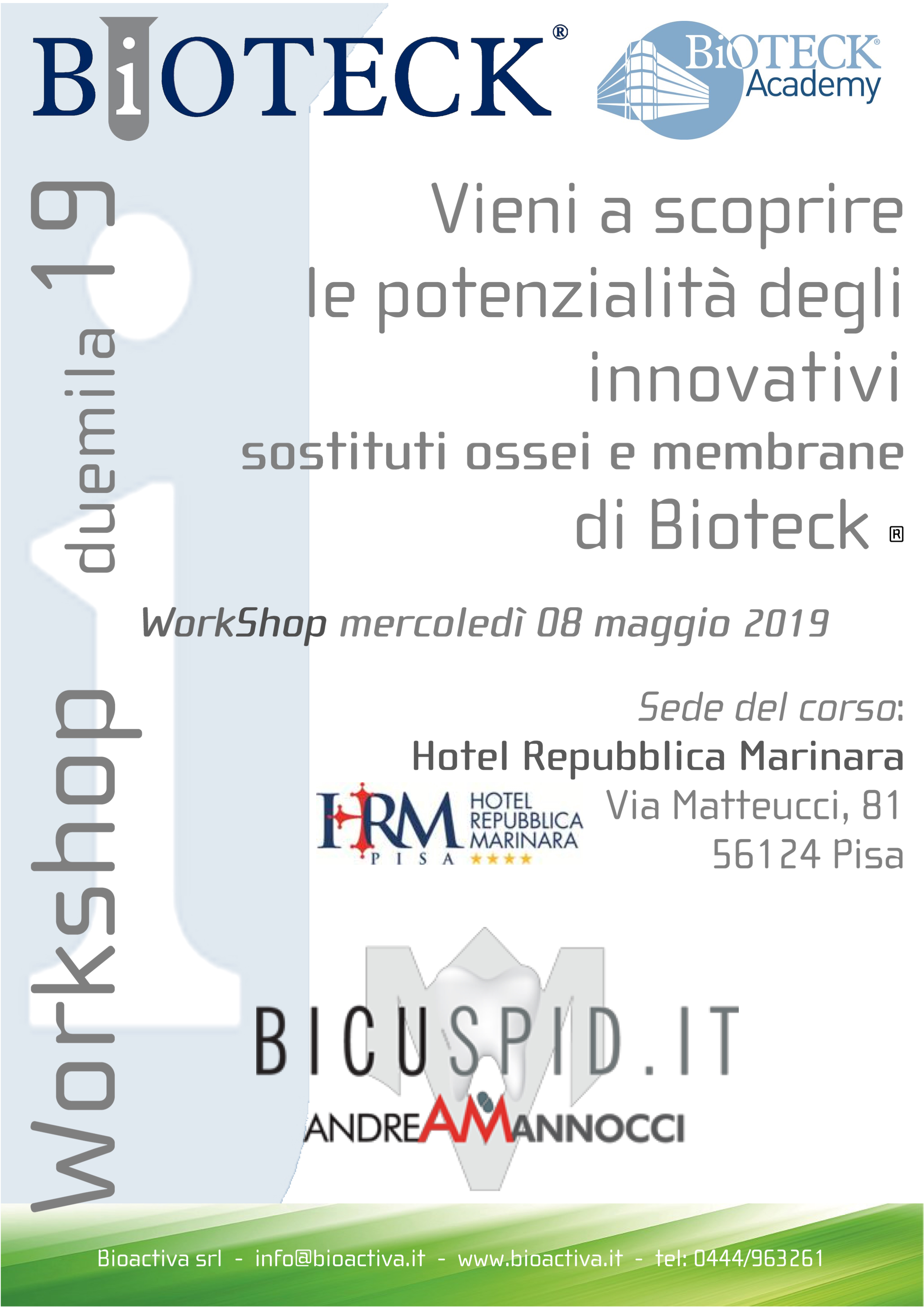 Invito workshop Pisa Bioteck