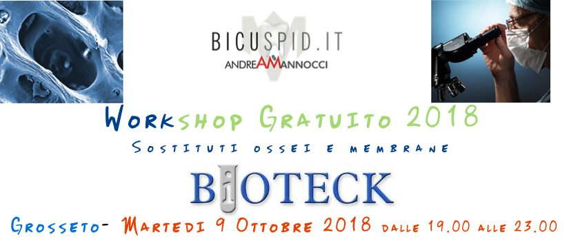 Bioteck workshop Andrea Mannocci