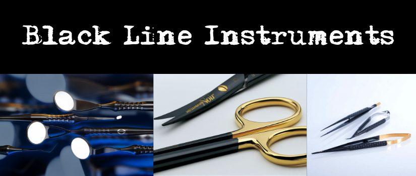 Immagine in evidenza Black Line instruments- Strumenti neri - specchietti neri