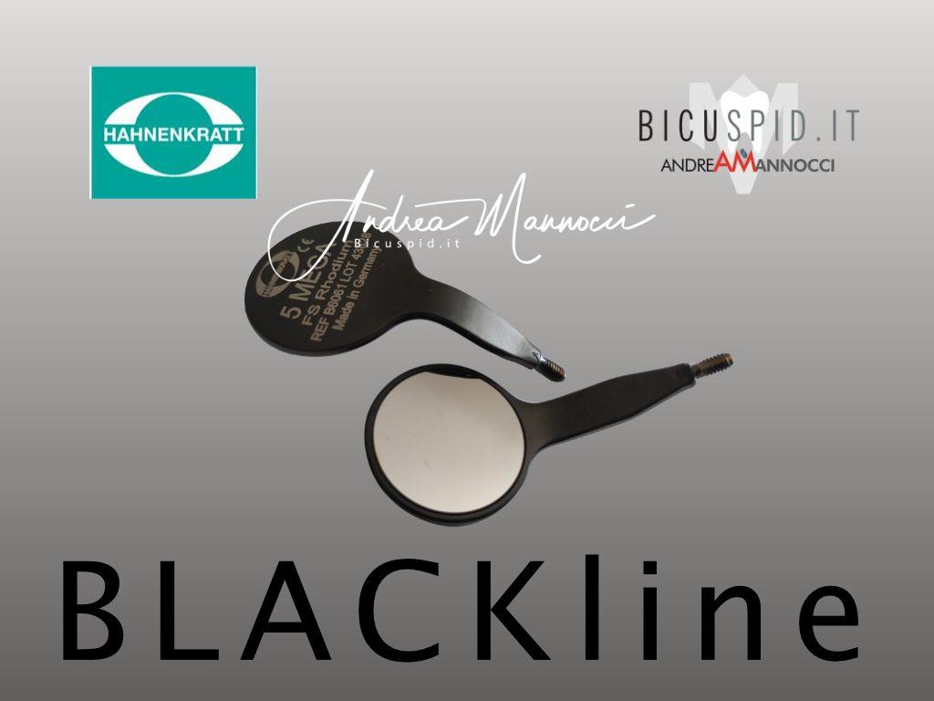 Specchietto Hahnenkratt Black Line B6060e B6061